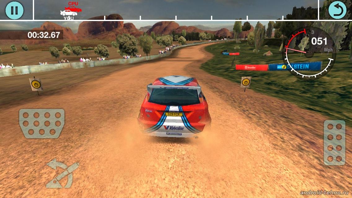 Гонка ралли Colin McRae Rally