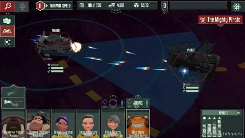 Космическая стратегия Cosmonautica Андроид