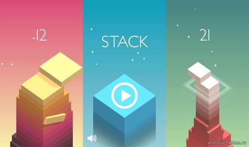 башня из блоков в двумерном пространстве для Андроид