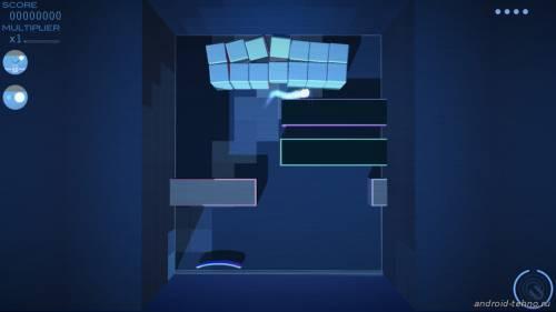 Арканоид на Андроид Grey Cubes: 3D Brick Breaker бесплатно