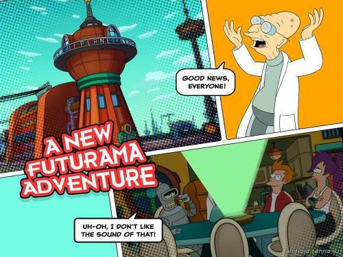 игра по сериалу Futurama скачать бесплатно