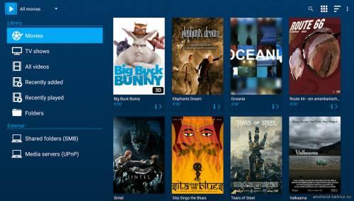 Лучший видеоплеер для Андроид-устройств Archos Video Player