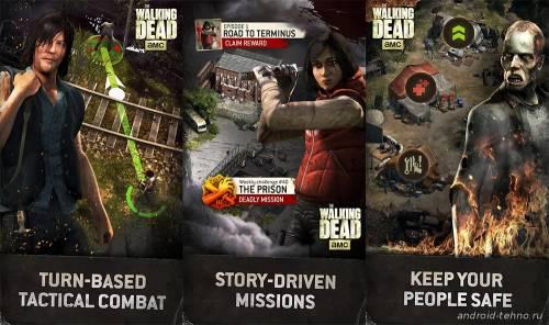 Игра по сериалу The Walking Dead на Android