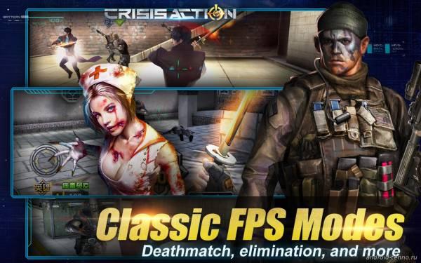 Crisis Action-eSports FPS на андроид