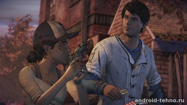 скачать игру на андроид The Walking Dead A New Frontier - фото 4