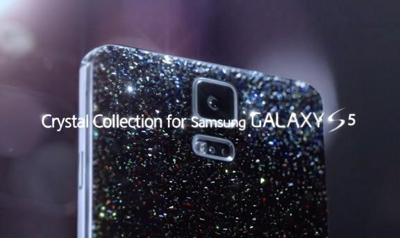 Samsung украсит Galaxy S5 кристаллами Swarovski