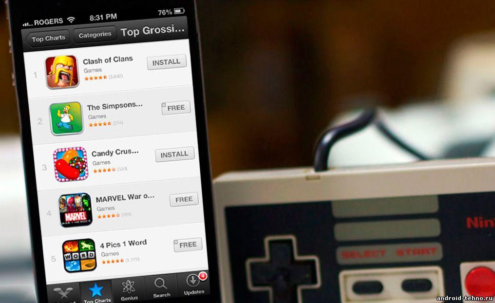 В мобильных играх тратят деньги лишь 1,35% пользователей