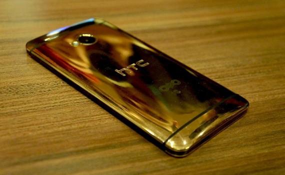Золотой HTC ONE (M8)