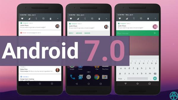 Версия Android 7.0
