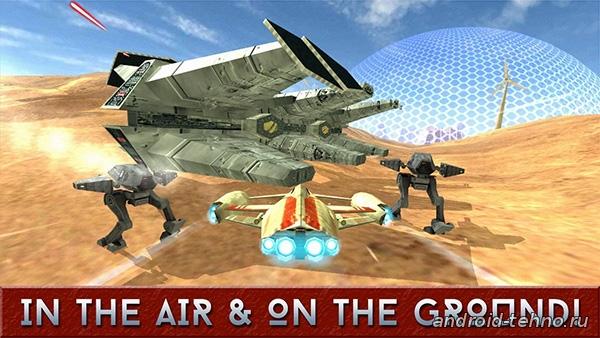 Alpha Squadron 2 для андроид скачать бесплатно на android