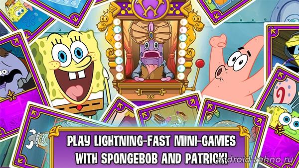 Спанч Боб: Игровое Безумие для андроид скачать бесплатно на android