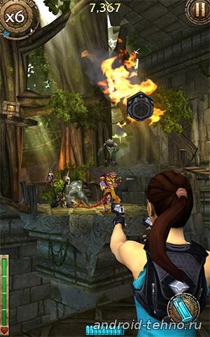 Lara Croft: Relic Run для андроид скачать бесплатно на android
