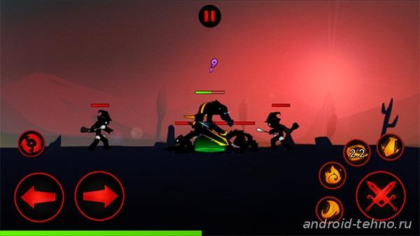 League of Stickman для андроид скачать бесплатно на android
