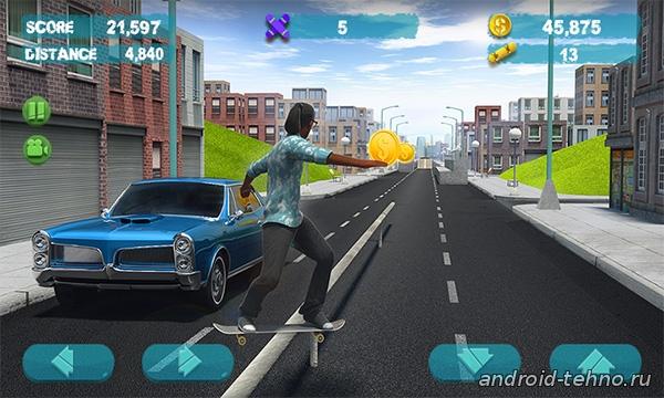 Street Skater 3D 2 для андроид скачать бесплатно на android