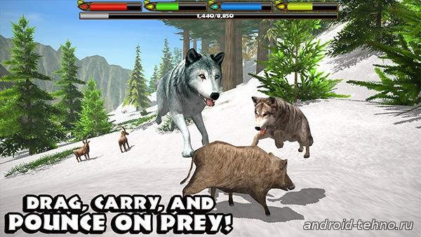 Ultimate Wolf Simulator для андроид скачать бесплатно на android