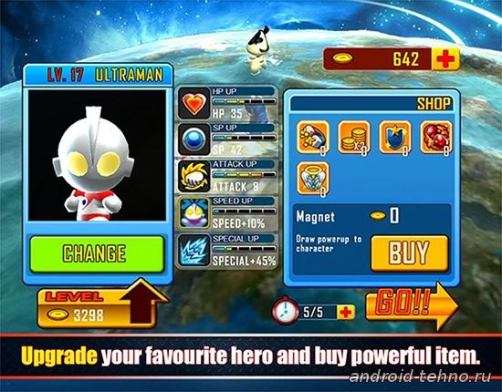 Ultraman Rumble для андроид скачать бесплатно на android