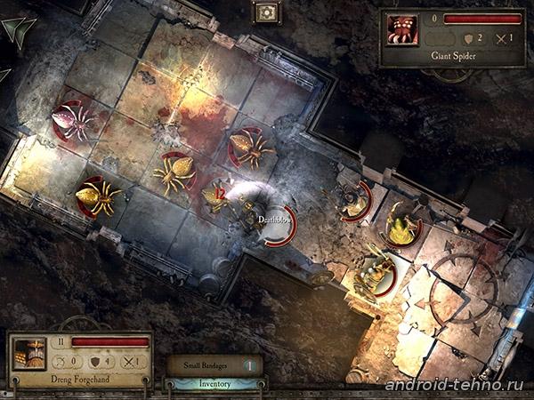 Warhammer Quest для Андроид скачать бесплатно на Android