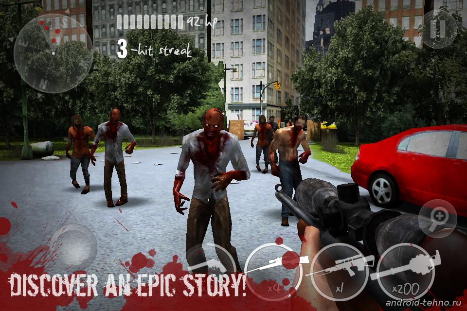 N.Y.Zombies 2 для андроид