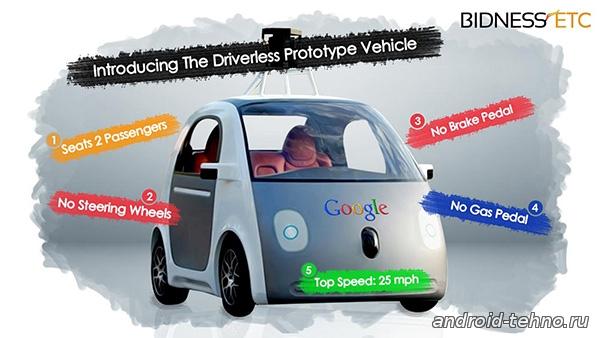 Google будет публично сообщать о ДТП с участием собственных беспилотных автомобилей.