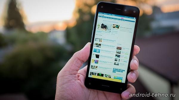 Fire phone от Amazon падает в цене.