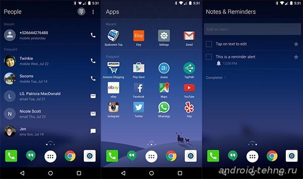 Microsoft Arrow Launcher для Андроид скачать бесплатно на Android