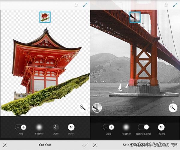 Adobe Photoshop Mix для андроид скачать бесплатно на android