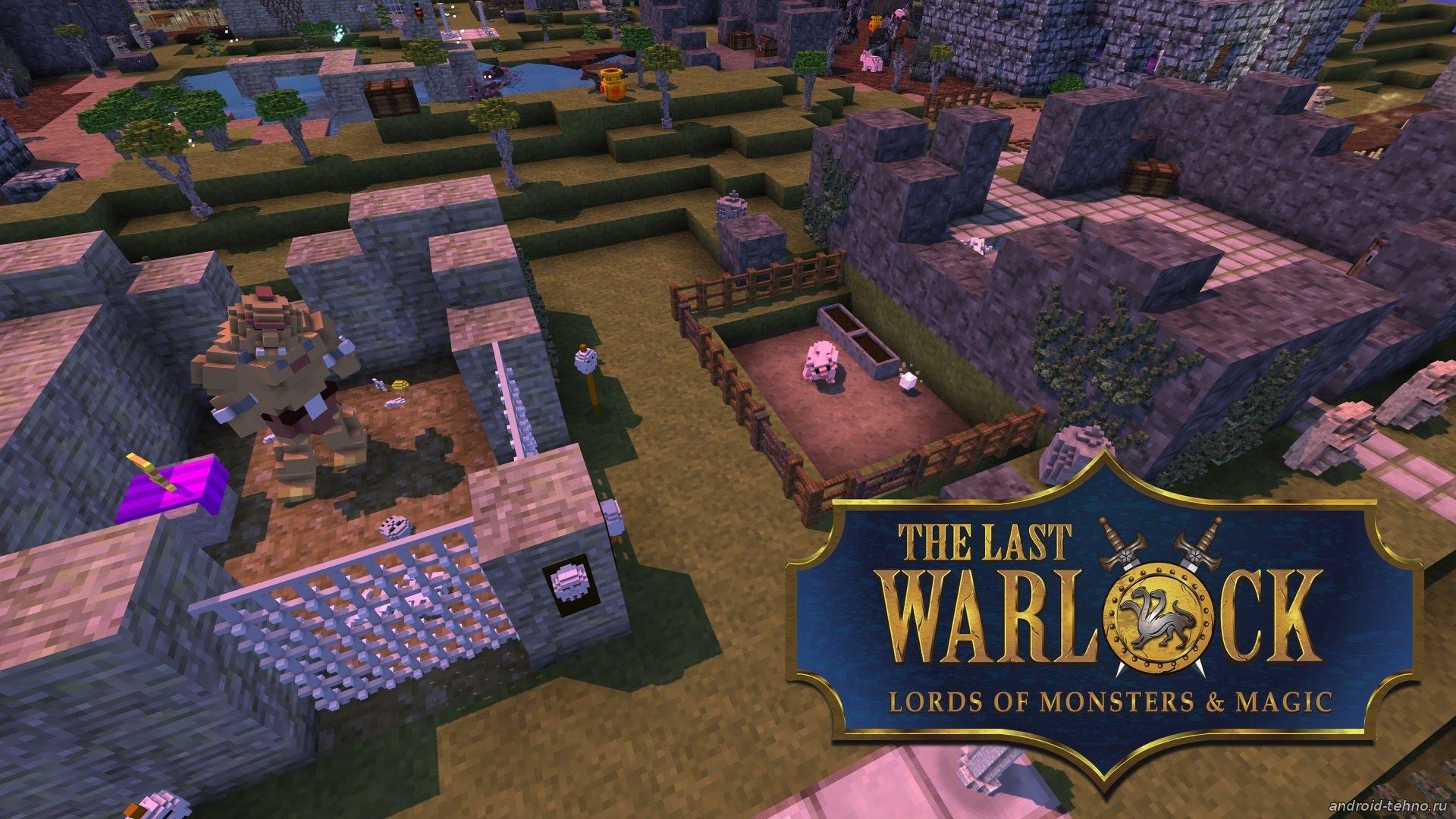 The Last Warlockb игра пародия на майнкрафт